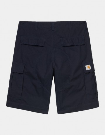 Carhartt Wip Regular Cargo Short Dark Navy Rinsed. - Product Photo 1