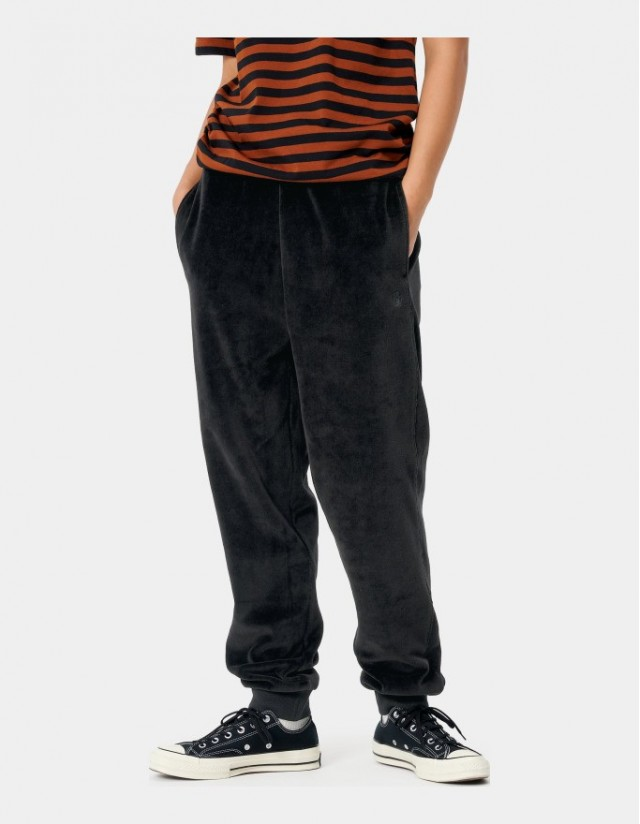 Carhartt Wip W Silverton Sweat Pant Black. - Women's Pants  - Cover Photo 1