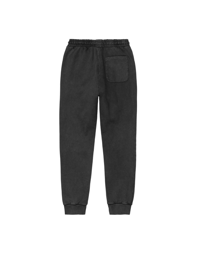 Carhartt Wip W Mosby Script Sweat Pant Black. - Women's Pants  - Cover Photo 2