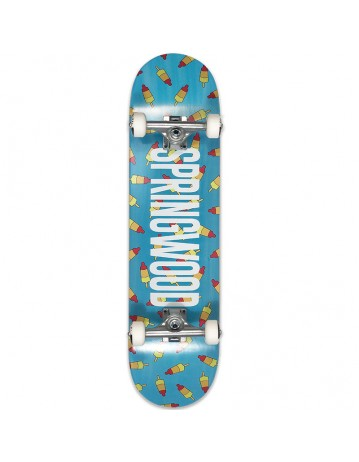 Springwood Rocket Air Complete Turquoise 8.0 - Product Photo 1