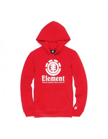 Element Vertical Hood - Red - Product Photo 1