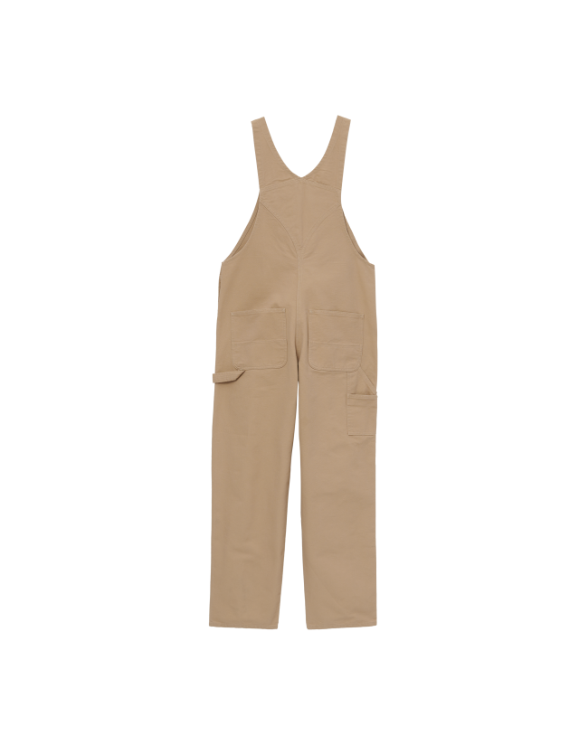 Carhartt Bib Overall - Dusty H Brown - Men's Overalls  - Cover Photo 2