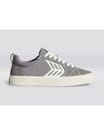 Cariuma Catiba pro - Charcoal grey contrast thread - Skate Shoes - Miniature Photo 1