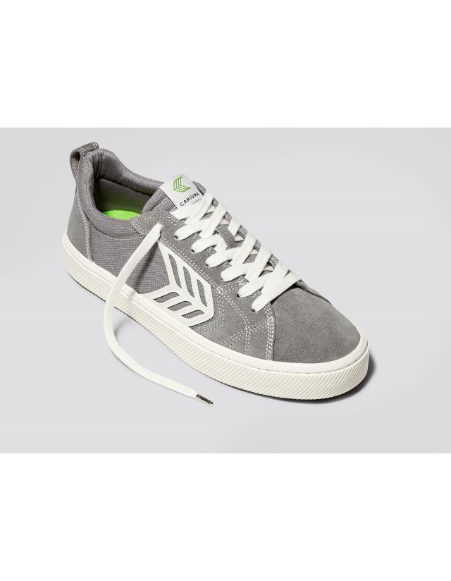 Cariuma Catiba Pro - Charcoal Grey Contrast Thread - Skate Shoes  - Cover Photo 2