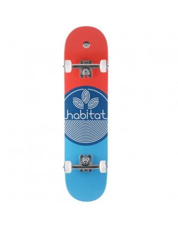 """Habitat Leaf Dot Blue 7.75"""" - Product Photo 1"""