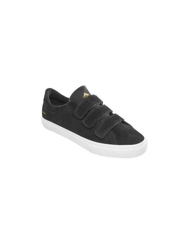 Emerica Omen Lo Vco Black - Skate Shoes  - Cover Photo 1