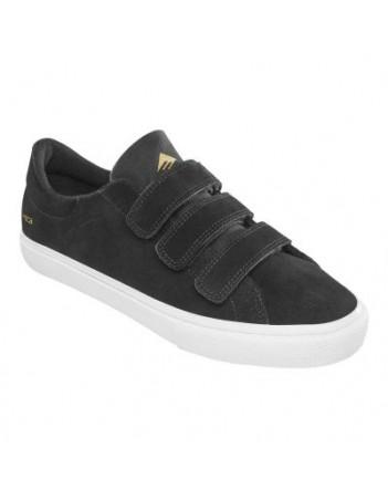 Emerica Omen lo VCO black - Skate Shoes - Miniature Photo 1