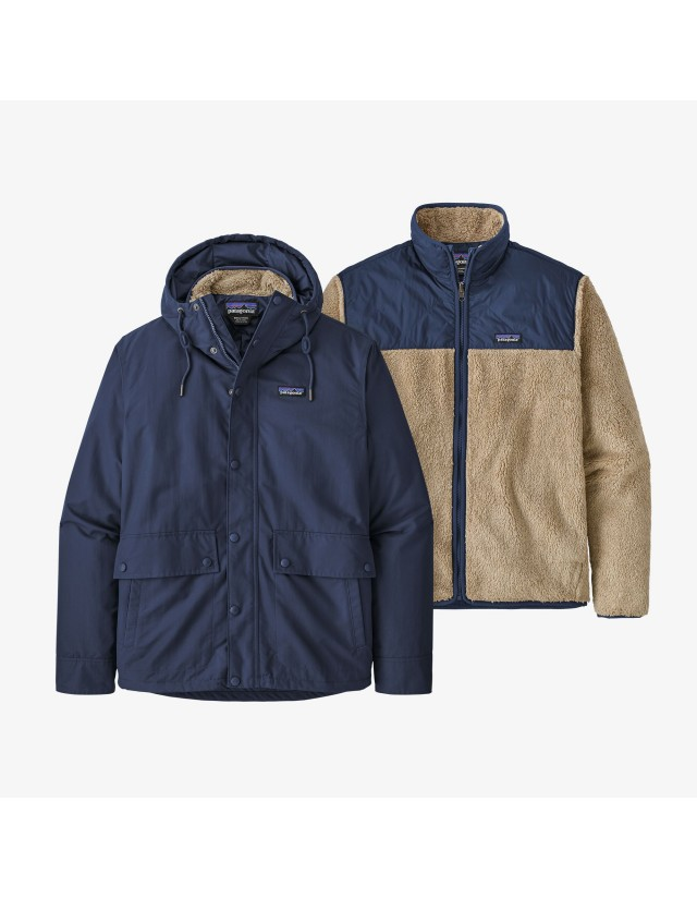 Patagonia M's Isthmus 3-In-1 Jacket - Nena - Man Jacket  - Cover Photo 1