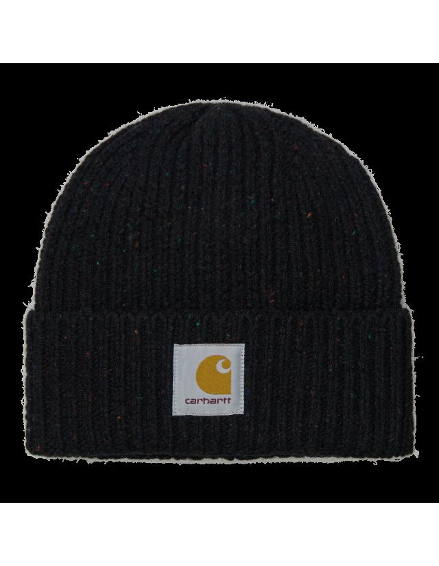 Carhartt Anglistic Beanie - Speckled Black - Beanie  - Cover Photo 2