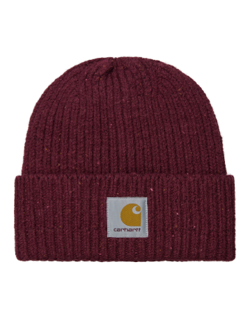 Carhartt Anglistic Beanie - Speckled Wine - Product Photo 1