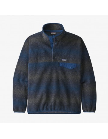 Patagonia M's Synchilla Snap-T Pullover - Gem Stripe New Navy - Product Photo 1