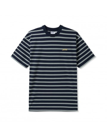 Butter Goods Chase Stripe Tee - Black - Product Photo 1