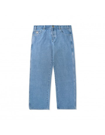 Butter Goods Dice Denim Pants (Relaxed) - Washed Indigo - Product Photo 1