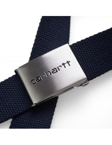Carhartt Clip Belt Chrome - Dark Navy - Product Photo 2