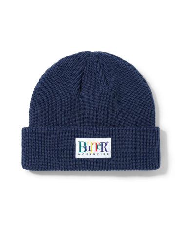 Butter Goods Jumble Beanie - Navy - Product Photo 1