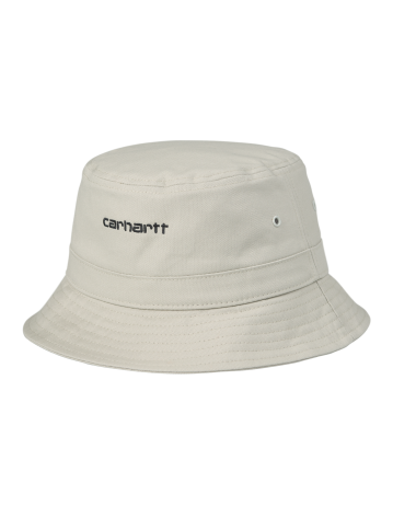 Carhartt Script Bucket Hat - Hammer / Black - Product Photo 1